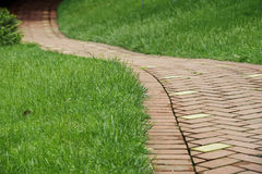 Winding pathway Royalty Free Stock Photography
