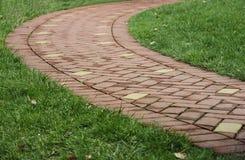 Winding pathway Stock Photo