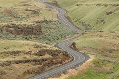 Winding road Royalty Free Stock Photo