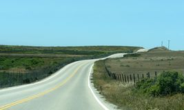 Winding Road royalty free stock images