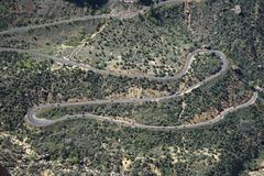 Winding road. Stock Photography
