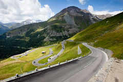 The winding road ahead. Royalty Free Stock Photography