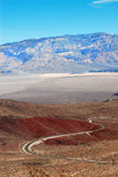 Winding Road, Death Valley Royalty Free Stock Image