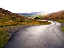Winding Road In Ireland Stock Photos