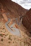 Winding Road In Morocco Royalty Free Stock Photo