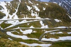 Winding road on mountain  Stock Photos