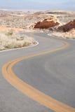 Winding Road Nevada Stock Photos