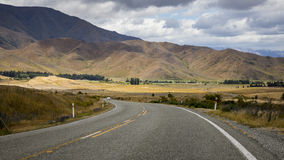 Winding road New Zealand Royalty Free Stock Photography