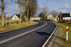 Winding road. Royalty Free Stock Images