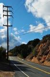 Winding Road, Santa Monica Mountains Royalty Free Stock Photography