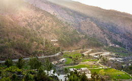 Winding Road Swat Valley Royalty Free Stock Photos