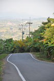 Winding Road in Thailand Royalty Free Stock Images