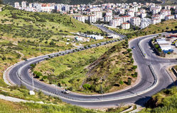 The Winding Road Stock Images