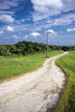 Winding small road Stock Photos
