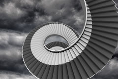 Winding staircase Royalty Free Stock Photography