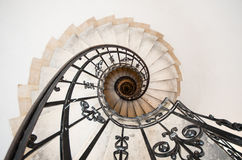 Winding staircase Stock Photography