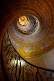 Winding stairs Royalty Free Stock Images