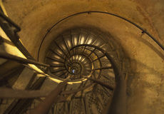 Winding stairs Stock Photography