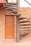 Winding stairs Royalty Free Stock Photo