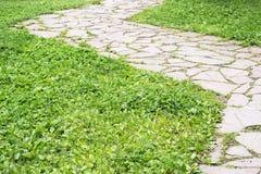 Winding stone road Stock Photo