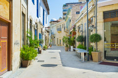 The winding street Stock Photography