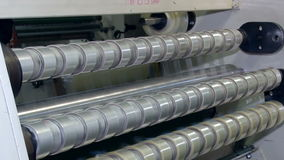 Winding tape with adhesive application rolls