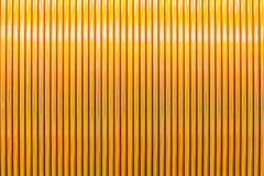 Winding texture. Texture of round enamelled wire in high-tension winding of transformer Stock Image