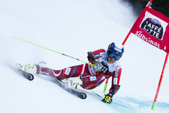 WINDINGSTAD Rasmus in Audi Fis Alpine Skiing World Cup Stock Images