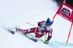 WINDINGSTAD Rasmus in Audi Fis Alpine Skiing World-Kop Stock Afbeeldingen