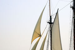 Windjammer Days. A celebration of tall ships in Boothbay Harbor, Maine Royalty Free Stock Image