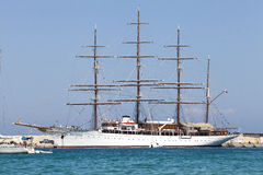 Windjammer vessel Royalty Free Stock Photography