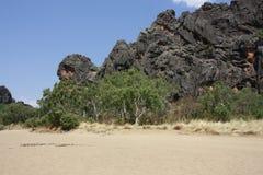 Windjana gorge, gibb river, kimberley, western australia Royalty Free Stock Photo