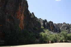 Windjana gorge, gibb river, kimberley, western australia Stock Photo
