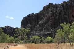 Windjana gorge, gibb river, kimberley, western australia Royalty Free Stock Photography