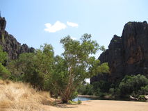 Windjana gorge, gibb river, kimberley, western australia Stock Photos