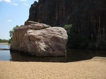 Windjana gorge, gibb river, kimberley, western australia Royalty Free Stock Photos