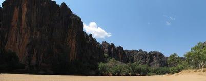 Windjana gorge, gibb river, kimberley, western australia Stock Image