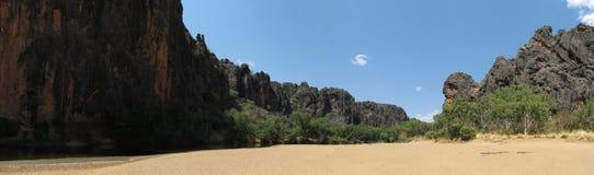 Windjana gorge, gibb river, kimberley, western australia Stock Images