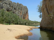 Windjana Gorge Stock Photography