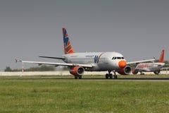 A320 Windjet Fotos de archivo libres de regalías