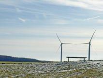 Windkraft royalty-vrije stock foto's