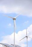 Windkraftanlage Lizenzfreies Stockfoto