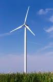 Windkraftanlage Stockfoto