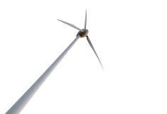 Windkraftanlage auf Hintergrund Lizenzfreie Stockfotos
