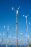 Windkraftanlage für elektrischen Generator stockfoto