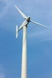 Windkraftanlage hoch Stockbild