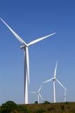 Windkraftanlage Südafrika Stockbild