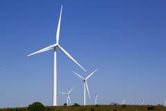Windkraftanlage Südafrika Stockfotografie
