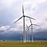 Windkraftanlagen Lizenzfreie Stockfotografie