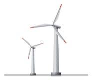 Windkraftanlagen Lizenzfreies Stockbild
